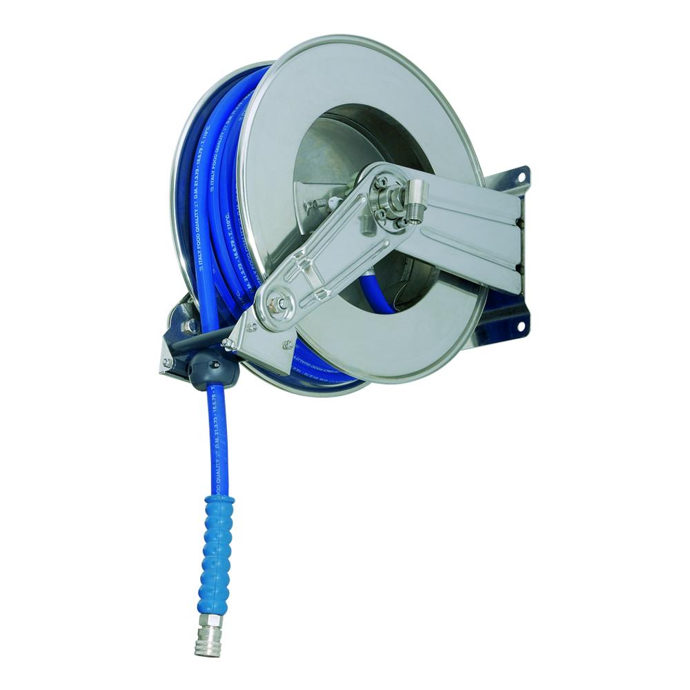 AV1000 BK - Hose Reels with Slow Retraction System