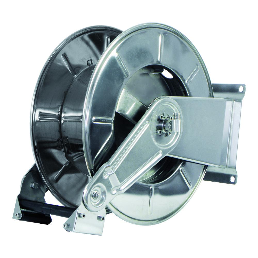 AV3550 BK - Hose Reels with Slow Retraction System