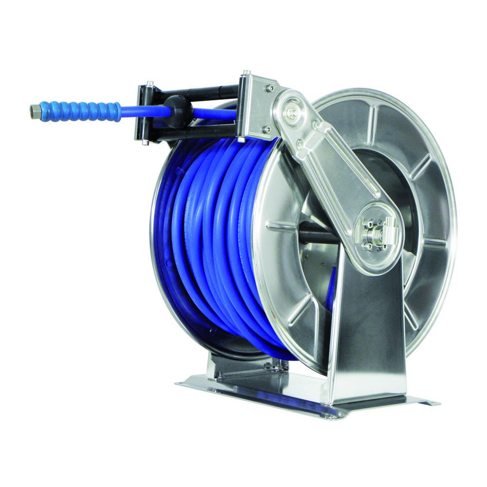 AV6200 BK - Hose Reels with Slow Retraction System