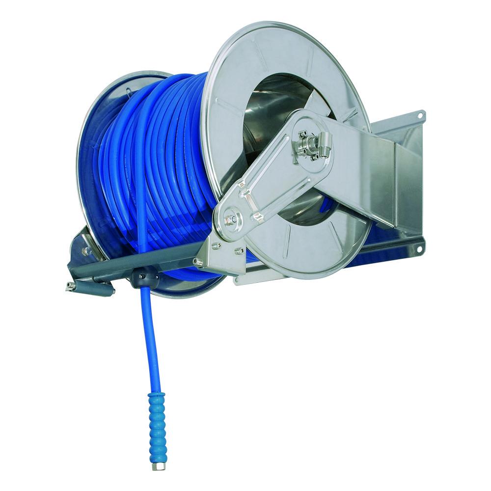 AV6300 BK - Hose Reels with Slow Retraction System