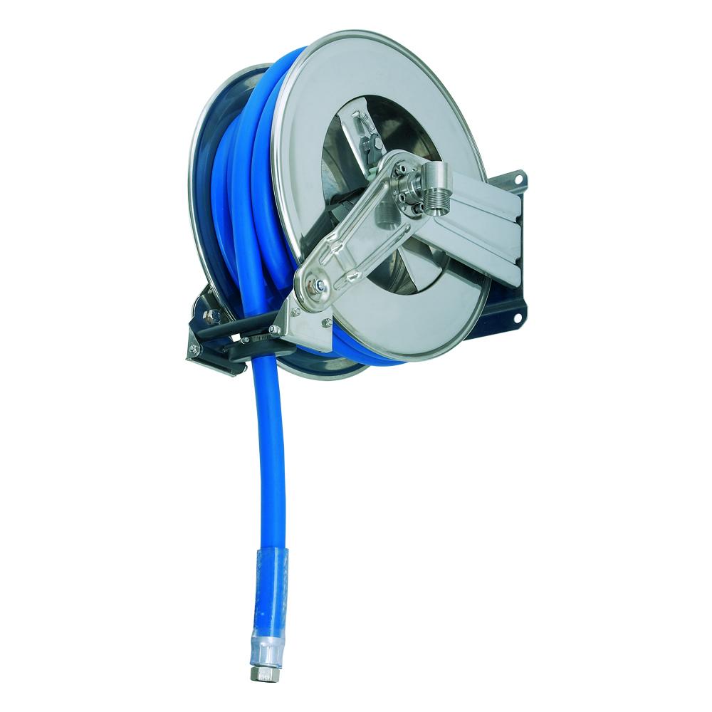 AV1200 BK - Hose Reels with Slow Retraction System
