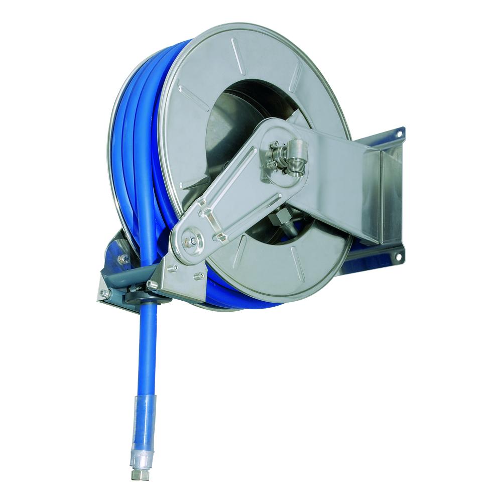 AV3501 BK - Hose Reels with Slow Retraction System