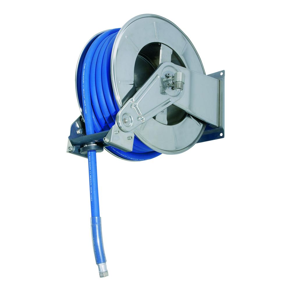AV3502 BK - Hose Reels with Slow Retraction System
