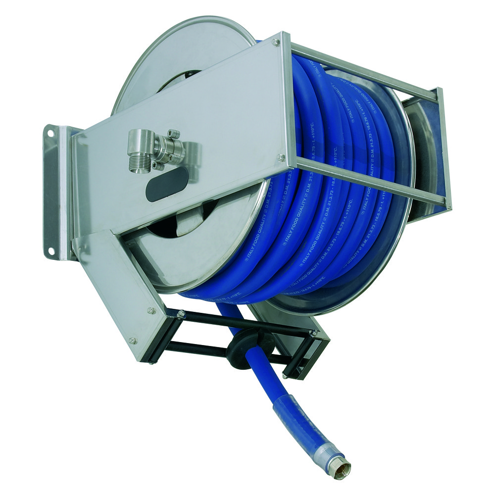 AV2300 BK - Hose Reels with Slow Retraction System