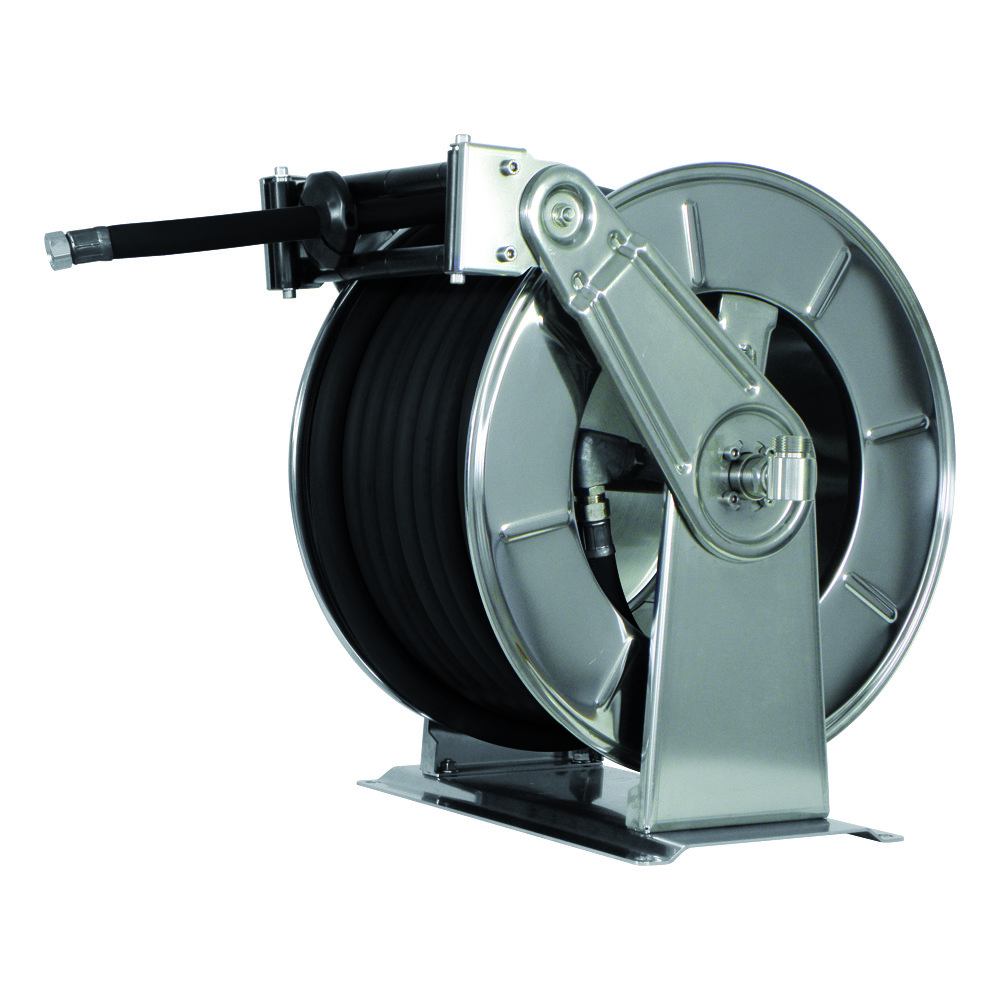 AV3503 GZ - Hose reels for Gasoline - Gas - Aviation Fuel - Explosive Fluids