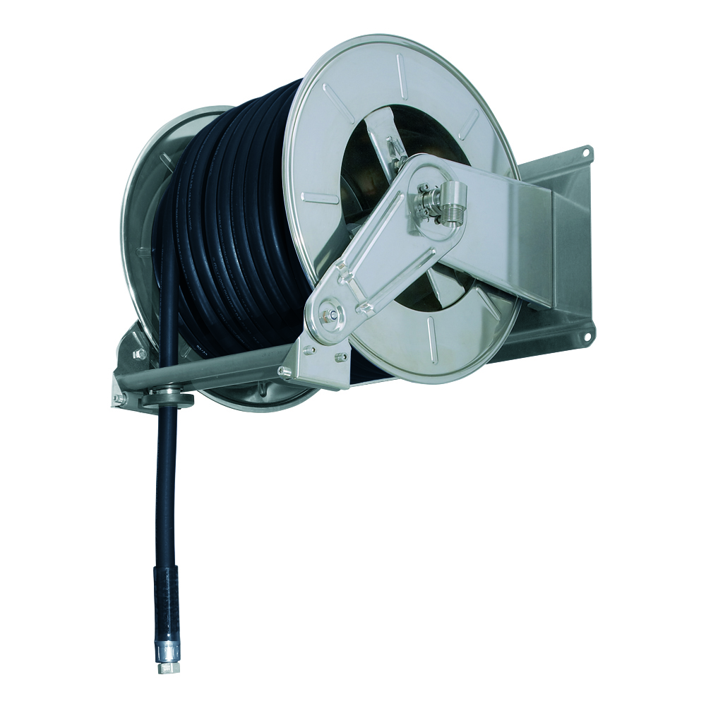 AV6001 GZ - Hose reels for Gasoline - Gas - Aviation Fuel - Explosive Fluids