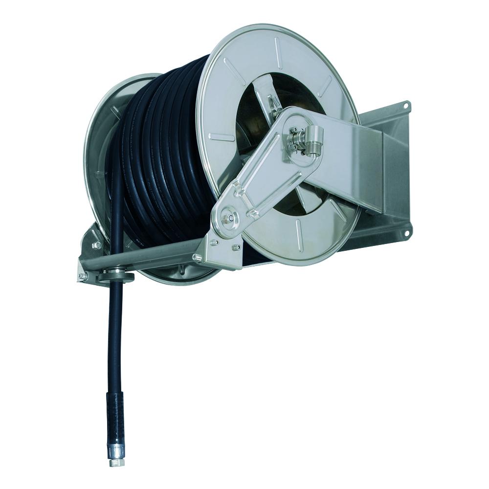 AV6001 GZ - Hose reels for Gasoline - Gas - Aviation Fuel - Explosive Fluids
