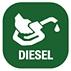 Diesel Fuel Hose reels