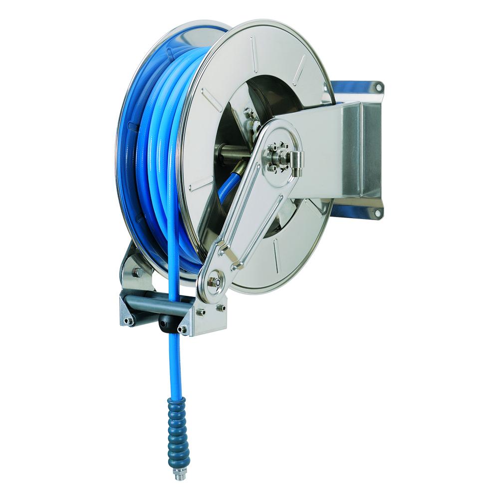 AV3400 GZ - Hose reels for Gasoline - Gas - Aviation Fuel - Explosive Fluids