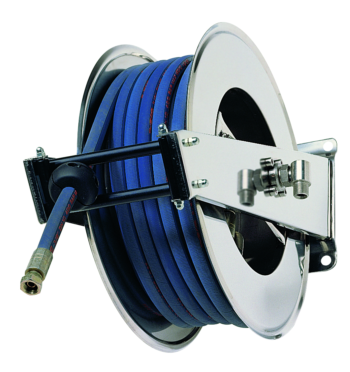 AV1500 400 - Hose reels for Water -  High Pressure up to 400 BAR/5800 PSI