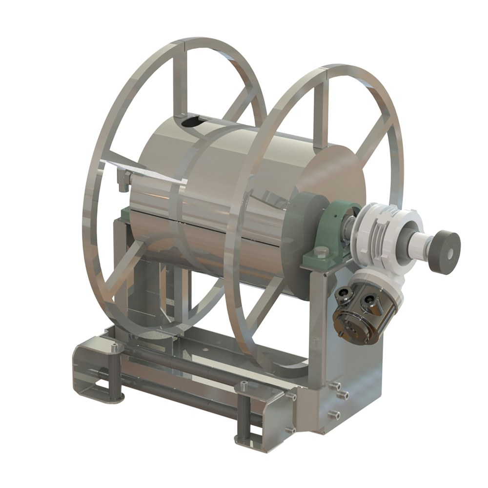 AVPN 8000 - Pneumatic Motor Driven hose reels